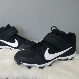NEW size 13 solid black white fastflex football
